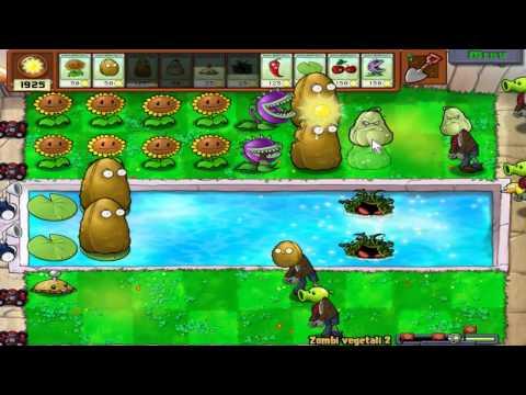 Let's Play Piante contro Zombi #46 - Minigioco #17 - Zombi Vegetali 2