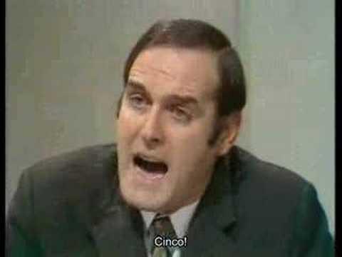 Silly Job Interview - Monty Python
