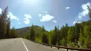 The Beautiful Drive Down US Route 97