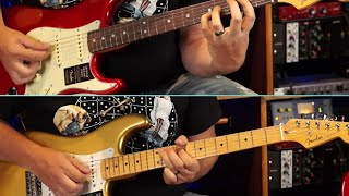 Fender American Original Series 50's and 60's Stratocasters