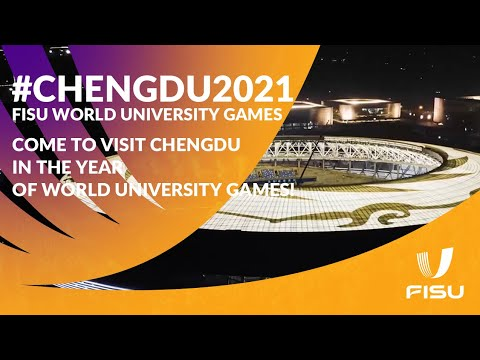 Come to visit Chengdu in the year of World University Games! #Chengdu2021.