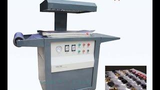 Скин упаковочная машина TB-390  (Блистер) упаковка инструмента на подложке(Подробности цены на сайте http://upakovochnoedelo.ru/ Предприятие