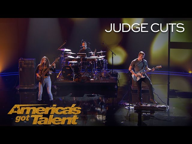 We Three: Sibling Band Perform Touching Original Called Lifeline - Americas Got Talent 2018