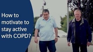 Walking Trails: Motivation to stay active with COPD