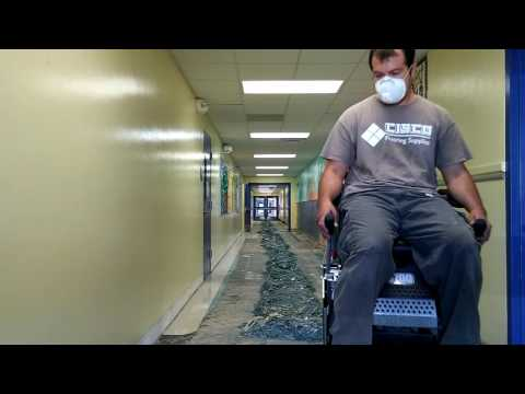 Gocio Elementary School VCT Removal with NE5700 part 2