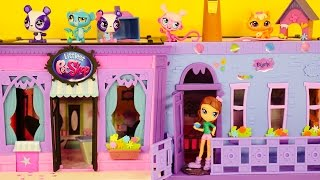 Littlest Pet Shop 95 Piece Blythe Bedroom Style Set LPS App Exclusive Penny Ling Toys