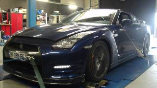 Nissan gtr 35 2011 dyno digiservices reprogrammation moteur
