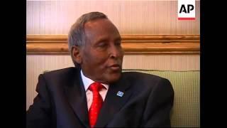 Somalian president says he is