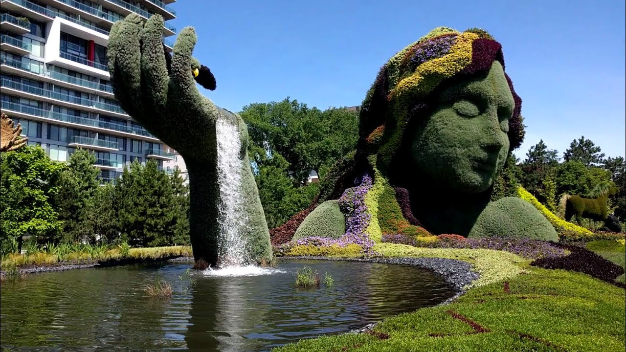 Attirant Tour Of The MosaiCanada150 Topiary Sculptures In Jacques Cartier Park In  Gatineau, Quebec (Ottawa)