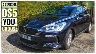 DS5 by Citroen - Good as a German? I took it to Paris