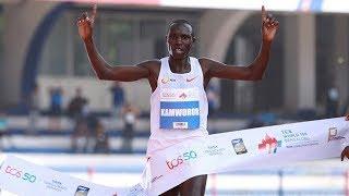 Geoffrey Kamworor Wins 10k Bengaluru 2018