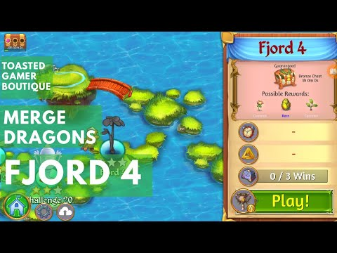 Merge Dragons Fjord