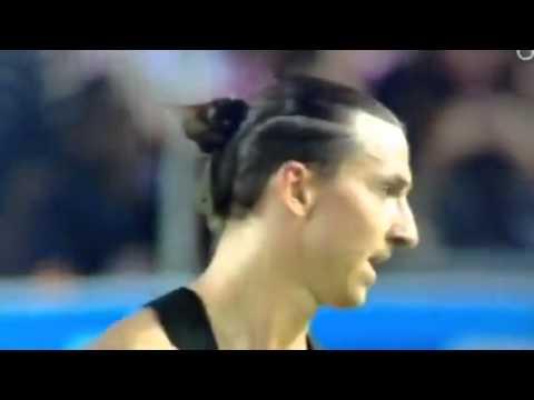 19. Zlatan Ibrahimovic en colère contre le jeune Kingsley Coman (furious against Kingsley Coman)