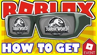 [PROMO CODE] How To Get Jurassic World Shades - Free Roblox Promo Code for Creator Challenge Event
