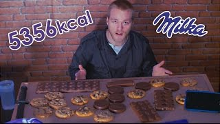 MILKA PACK CHALLENGE (5000+ KCAL Z CZEKOLADY) | [Epic Cheat Meal]