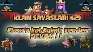 Clash of Clans | Klan Savaşları #29 - 3 Yıldızlı Savaşlar | Eti PUF - CoC & Royale