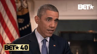 Barack Obama Discusses His Solutions For Police Mistrust In America   #BET40