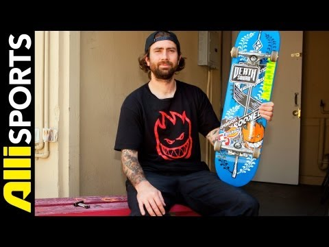 Bobby Worrest's Krooked Skateboard, Independent Trucks + Spitfire Wheels Setup, Alli Sports