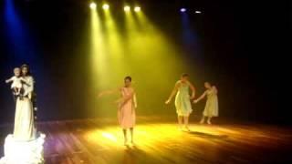 Dança Coroação de Maria ND