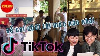 TikTok Học Sinh Thời 4.0 Chất Như Nước Cất (VNCO Reaction)