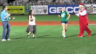 Elaine Dance Contest, Brooklyn Cyclones' Seinfeld Night, 7/5/14