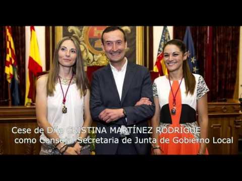 Audio, Carlos Gonzalez, sobre: Cese, Cristina Martinez