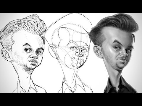 Process for Successful Drawings - Caricature Essentials