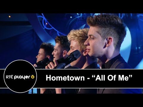"""Hometown Perform John Legend's """"All Of Me"""" At Rose Of Tralee 2014"""