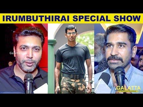 Very Scary! Celebrities React to Irumbu...