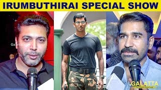 Very Scary! Celebrities React to Irumbu Thirai | Jayam Ravi | Vijay Antony | Vishal | Samantha