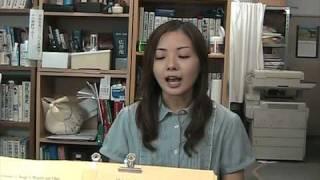発音教室に通って3ヶ月目の塩見さんの動画です。