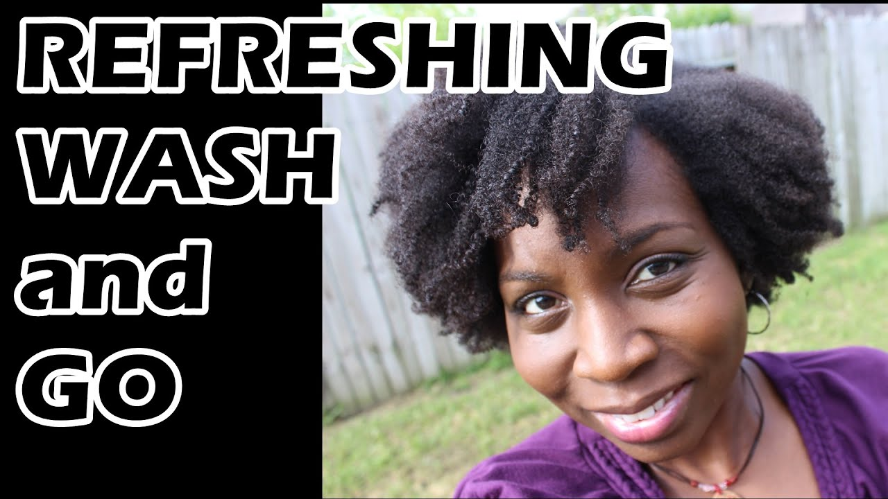 how to refresh wash and go 4b 4c natural hair day 2 tresemme natural and eco styler gel youtube. Black Bedroom Furniture Sets. Home Design Ideas
