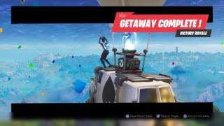 """[Battle Royale Fortnite] * NEW * GameMode """"GETAWAY"""""""