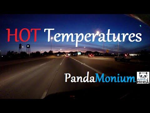 RV Living Vlog Fast Trip Through Arizona Hot Temperatures
