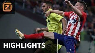 Samenvatting | Atlético Madrid - Villarreal | 29/10/2017