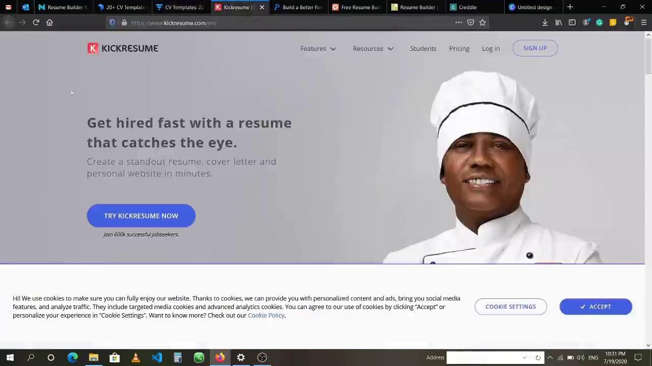Top Free Website To Write Resume Cv Best Resume Builder