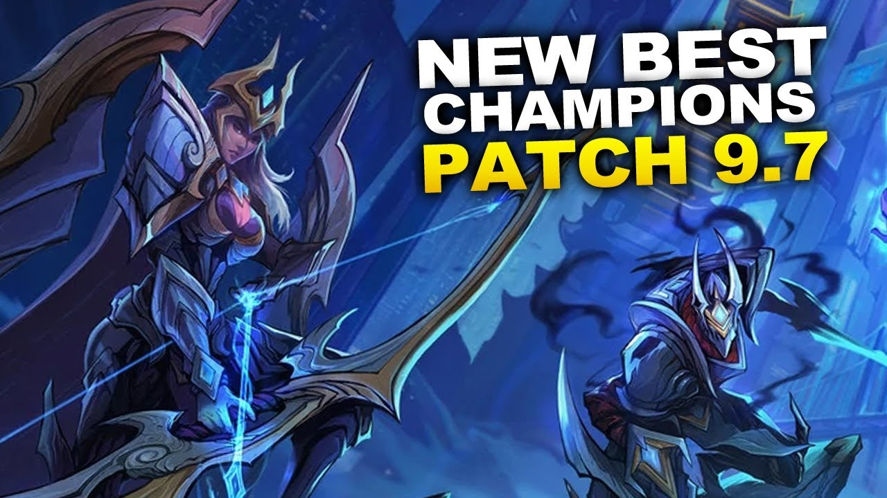 New Best Champions for Patch 9.7 Season 9 for Climbing in EVERY ROLE