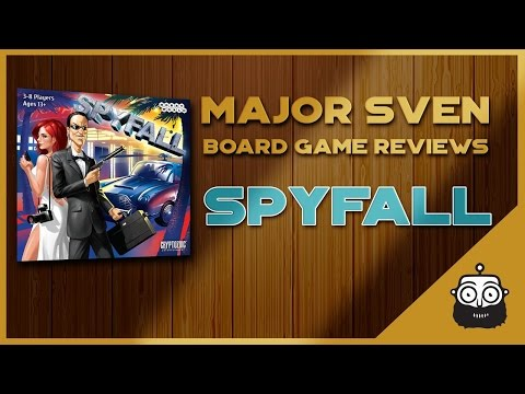 Major Sven Board Game Review (Spyfall)