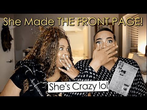 How MY MOTHER Made THE FRONT PAGE!! (she crazy) | HeFlawless