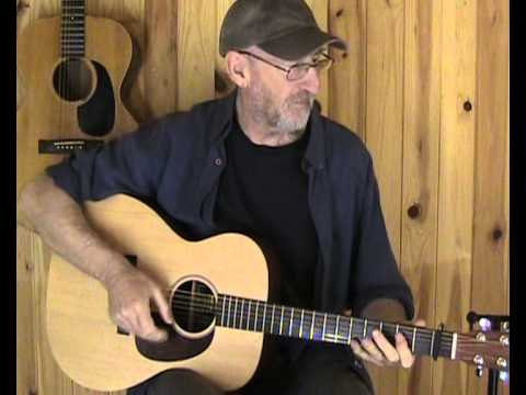 Jim Bruce Blues Guitar -  'Blue Day Blues' by Scrapper Blackwell (Cover)