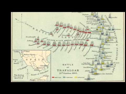 21st October 1805: Nelson wins the Battle of Trafalgar