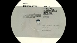 Luke Slater - Body Freefall, Electronic Inform ( Counterplan Mix )