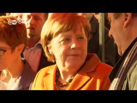 El diésel afecta a Merkel