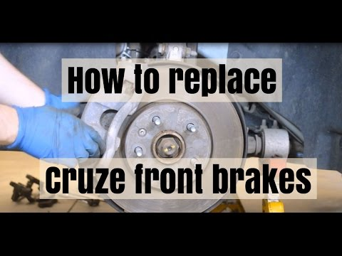How To Replace Front Brake Pads And Rotors On A Chevy