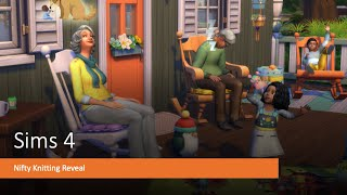 Sims 4 Nifty Knitting Stuff Pack Item Reveal, Buy Mode and Build Mode