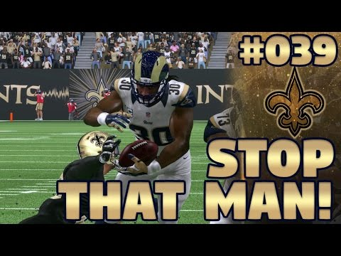 Madden NFL 17 New Orleans Saints Franchise Ep. 39 | SOMEBODY STOP THAT MAN!!!