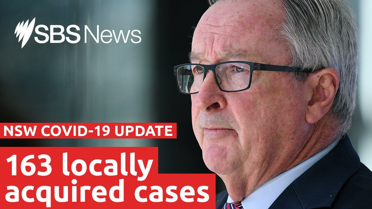 Watch: NSW COVID-19 update   SBS News