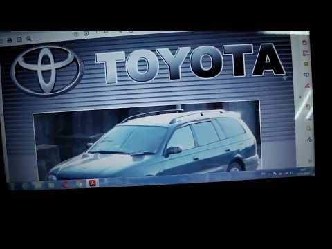 Toyota Caldina 2000 г. двс 5E-FE ревизия двс.