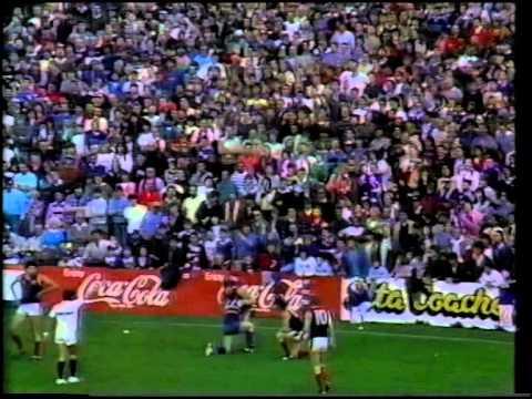 Round 22 1987 - Footscray vs Melbourne
