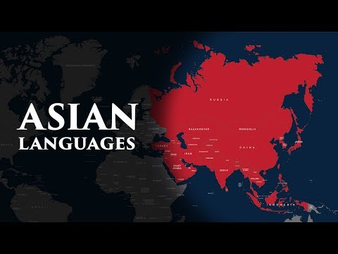 Asian Official Languages (Complete sovereign countries)